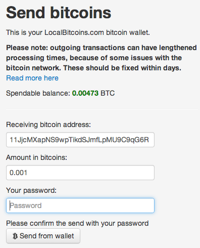 My bitcoin wallet is empty - Bitcoin shops europe