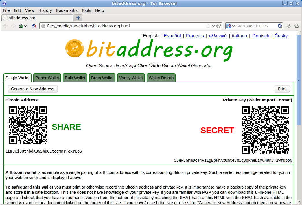 Bitcoin Paper Wallets From Scratch
