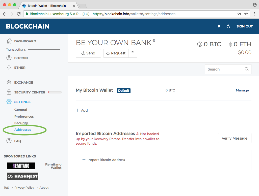 How To Spend A Bitcoin Paper Wallet In Three Steps Bitzuma