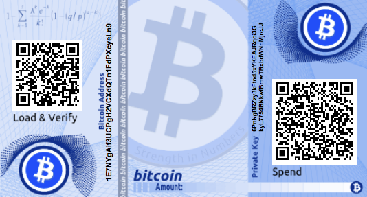 How To Send Bitcoins From A Paper Wallet 99 Bitcoins