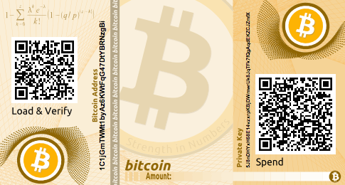 Unencrypted Paper Wallet