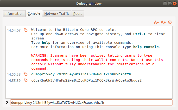How to Sweep Your Bitcoin Core Wallet into Electrum - Bitzuma